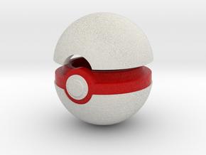 Pokeball (Premier) in Full Color Sandstone