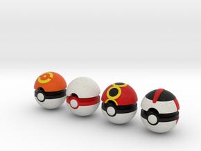 Pokeballs (Set 04) in Full Color Sandstone