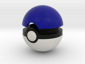 Pokeball (Captain's) in Full Color Sandstone