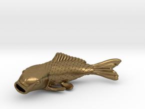 Carp in Natural Bronze