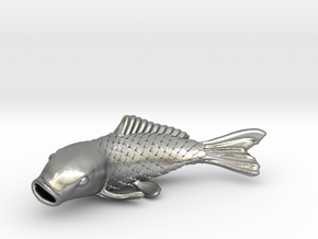 Carp in Natural Silver