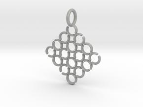 C and C Pendant in Aluminum