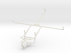 Controller mount for PS4 & Microsoft Surface Pro 2 in White Natural Versatile Plastic