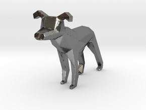 Dog (Vacuum Cleaner) in Polished Silver