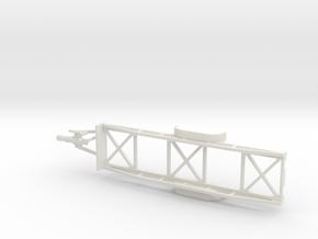 1001 Langmaterialanhänger HO in White Strong & Flexible: 1:87
