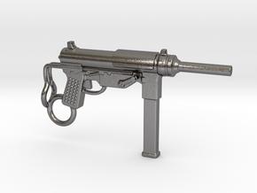Submachine Gun M3 in Polished Nickel Steel