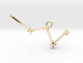 The Constellation Collection - Cassiopeia in 14K Yellow Gold