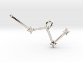 The Constellation Collection - Cassiopeia in Platinum