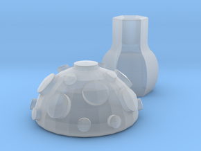 Toadstool in Smooth Fine Detail Plastic