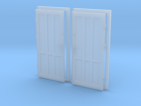 0 scale 1:43 doors ( 2pcs set)  in Frosted Ultra Detail