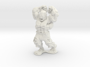 HULK in White Natural Versatile Plastic