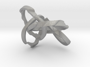 WOW5 Puzzle Ring in Aluminum: 6 / 51.5
