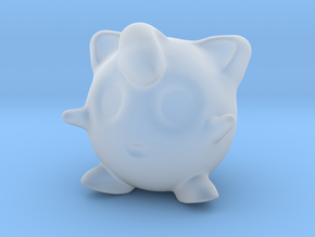 Jigglypuff in Smooth Fine Detail Plastic