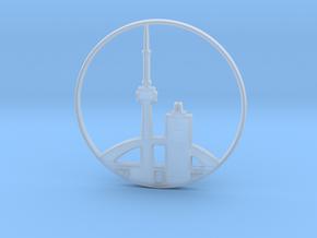Toronto Pendant in Smoothest Fine Detail Plastic