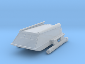 1:537 TOS Shuttle (Cutaway size) in Smoothest Fine Detail Plastic