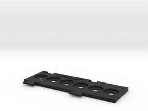 X-Wing Miniatures Shield Token Holder in Black Natural Versatile Plastic