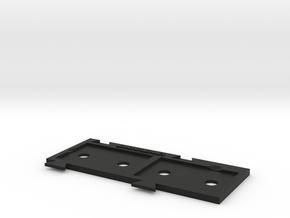 X-Wing Miniatures Upgrade Card Holder X2 in Black Natural Versatile Plastic