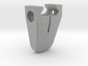 Mini handstop Picatinny - imperial in Metallic Plastic