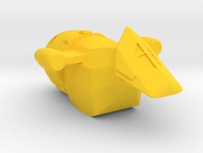 Series 1 in Yellow Processed Versatile Plastic
