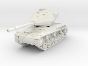 MV13 Stridsvagn 74 (1/48) in White Natural Versatile Plastic