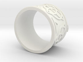 Celtic Ring Bene in White Strong & Flexible