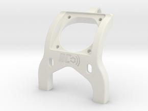 Associated B6D 25mm Fan Brace Standup in White Natural Versatile Plastic