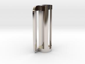 BIC Penholder V0.1 in Rhodium Plated Brass