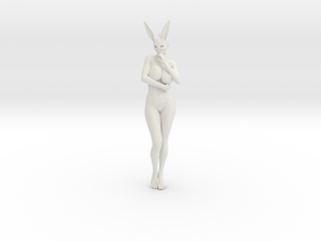 Bunny lady 004 1/10 in White Strong & Flexible