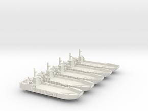 1/700 Scale Vietnam LCU-1466 class in White Natural Versatile Plastic