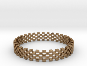 Continum Ring (Size-12) in Natural Brass: 12 / 66.5