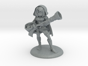 METYLDA THE RED RIDING HOOD in Polished Metallic Plastic