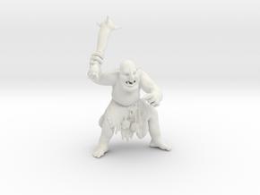 Troll in White Strong & Flexible