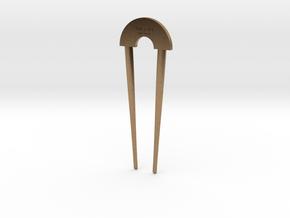 Hairpin - The Loft Hair Salon (shorter) in Natural Brass