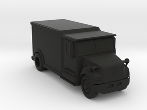 Armored Truck (Hollowed), 1/64 in Black Natural Versatile Plastic