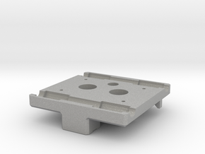 X Carriage Base for Dual Extruders in Aluminum