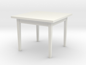 1:48 38x38x30 Table (not full size) in White Strong & Flexible