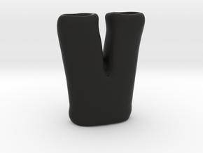 Earpants in Black Natural Versatile Plastic