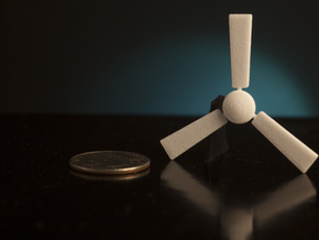 1:24 Ceiling Fan in White Strong & Flexible