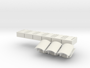 1:18 Era Panels Additional  in White Natural Versatile Plastic