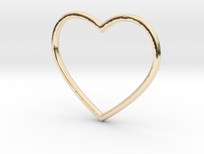 Heart in 14k Gold Plated