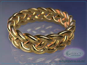 Celtic Knot Ring 1 ~ US size 14 in 14K Yellow Gold