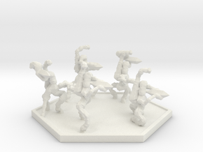 SWARM Mimic Squad (Hex) in White Natural Versatile Plastic