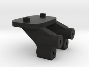 B44 Low Wing Mount  in Black Natural Versatile Plastic