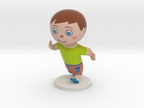 Kid  in Full Color Sandstone