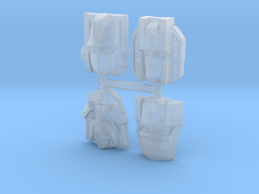 Generation One Leaders Four Pack in Smooth Fine Detail Plastic
