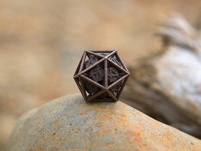 20-Sided Vector Die in Stainless Steel