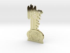 Thir13en Ghosts Brass Key Replica Prop in 18K Gold Plated