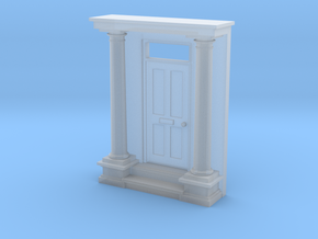 Entrance Portico N Scale in Smooth Fine Detail Plastic