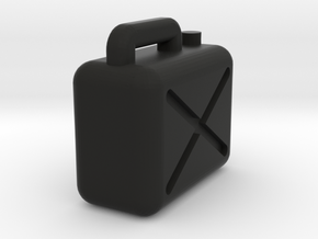 Jerrycan 1/45 in Black Natural Versatile Plastic