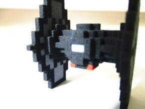 Minecraft Star Wars TIE Fighter in Full Color Sandstone